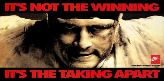 NIKE 'It's Not The Winning' Mark Denton