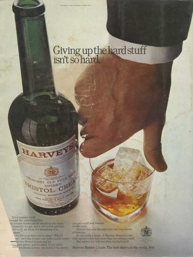 Alan Parker, Harvey's, 'Hard Stuff', CDP-01