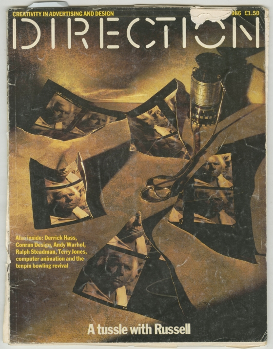 John Claridge, Direction Cover-01