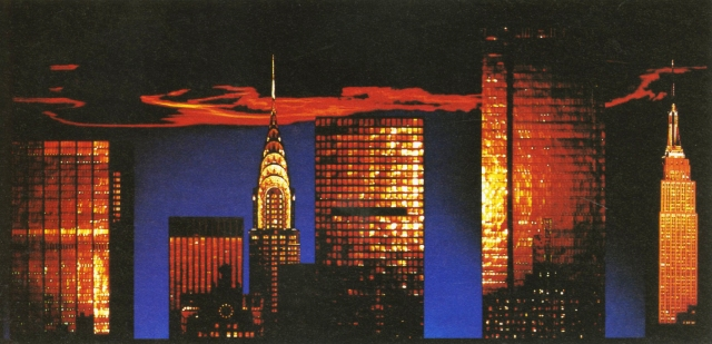 John Claridge -New York Sunset-01