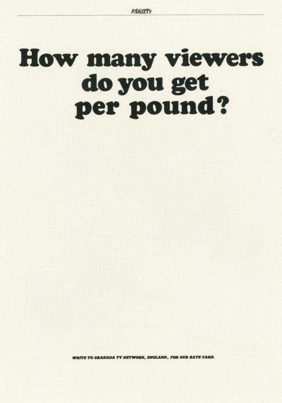 PKL, The First Year, Granada TV 'Per Pound'-01