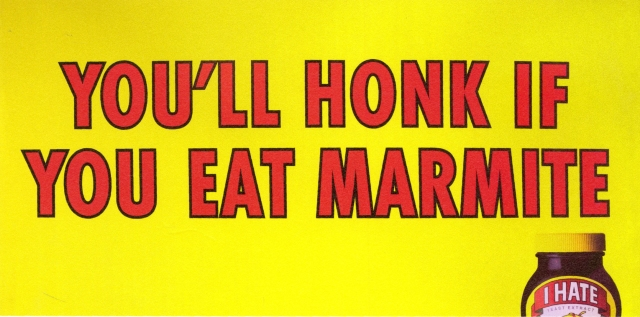 Andy McCleod, Marmite 'You'll honk' 48, BMP:DDB.