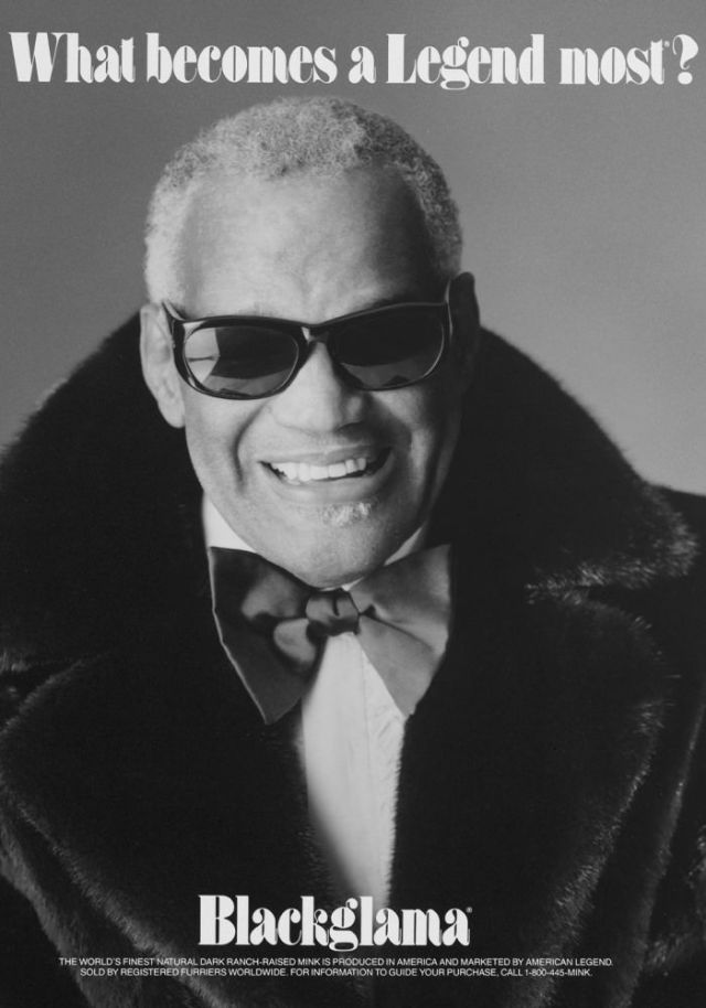 Blackgamma ad - .Ray Charles