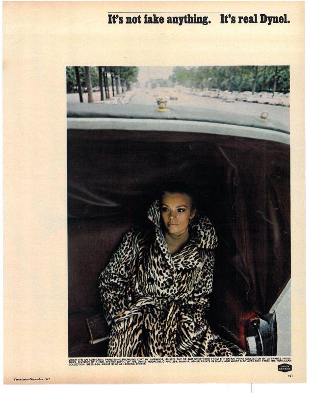 Jane Trahey, Dynel 'Taxi'
