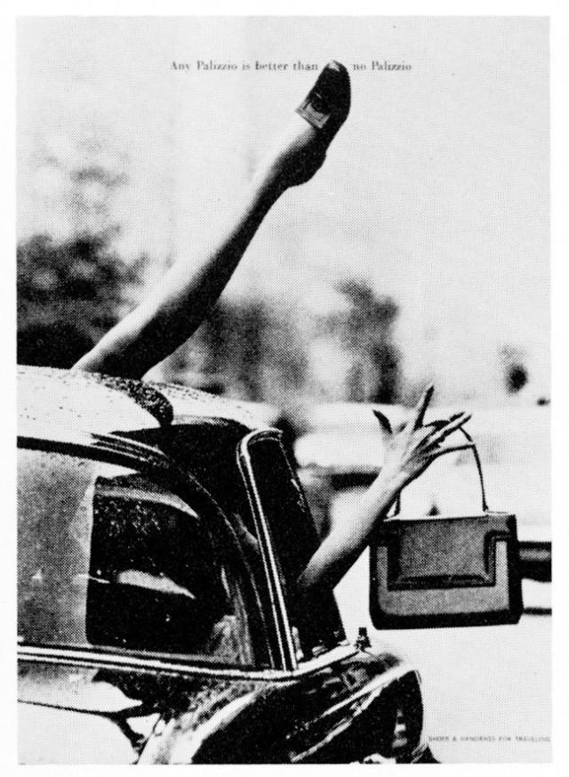 Jane Trahey, Polozzio 'Cab'