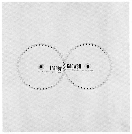 Jane Trahey, 'Trahey Cadwell Brochure'