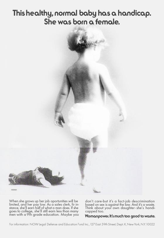 Jane Trahey, Womanpower 'Born'-01