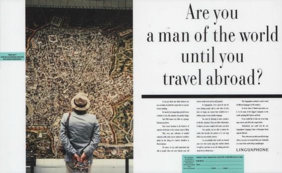Linguaphone, 'Are you a man', Leagas Delaney