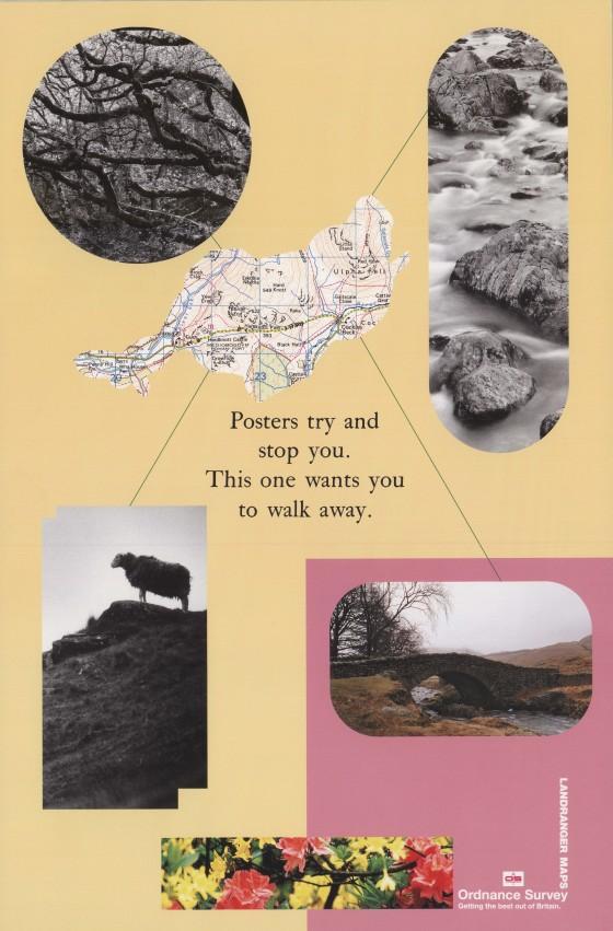 Ordnance Survey, 'Walk away', Leagas Delaney