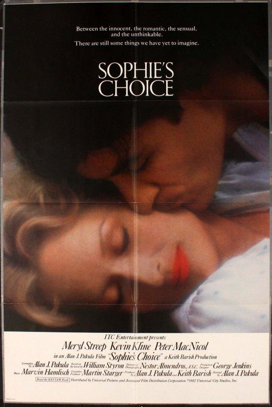 Steve Franfurt - 'Sophies Choice' Poster