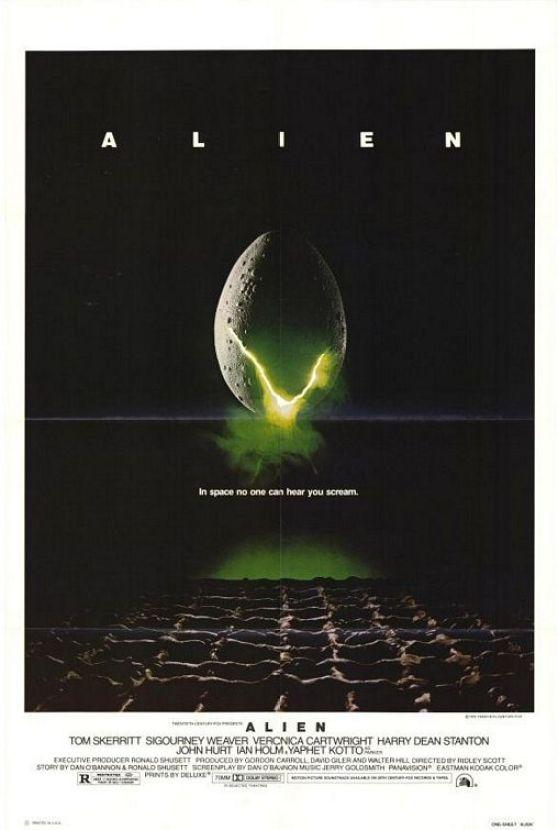 Steve Frankfurt - 'Alien' Poster,