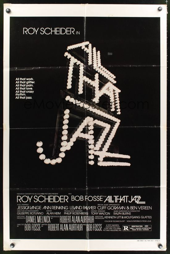 Steve Frankfurt - 'All That Jazz' Poster,