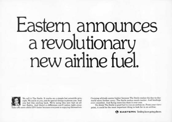 Steve Frankfurt, Eastern Airlines 'Fuel'