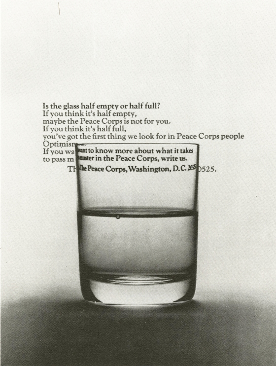 Steve Frankfurt, Peace Corps 'Glass'*