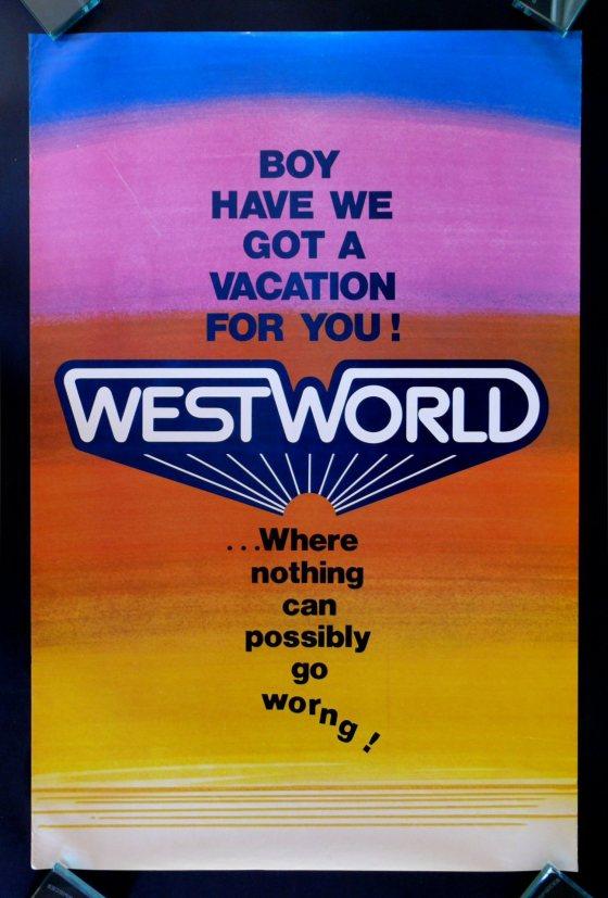 Steve Frankfurt - 'Westworld' Poster