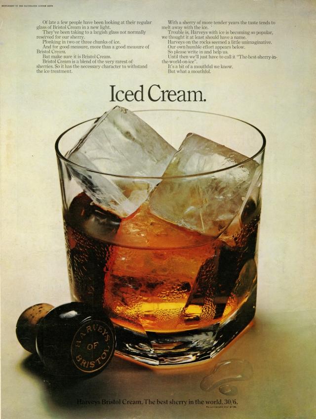 Alan Parker, Harvey's Bristol Cream, 'Iced Cream', Lester Bookbinder, CDP-01