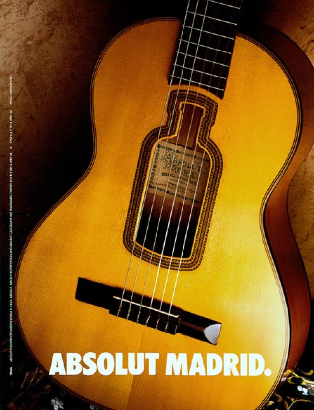 Graham Ford, Absolut 'Madrid
