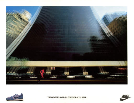 Max Forsythe, Nike 'Blurry Building', FCO
