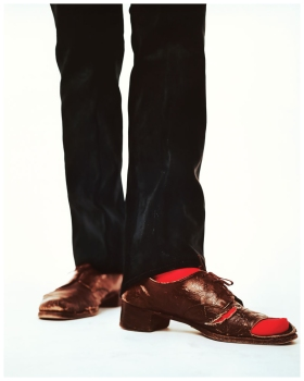 Richard Avedon - Andy Warhol's shoes