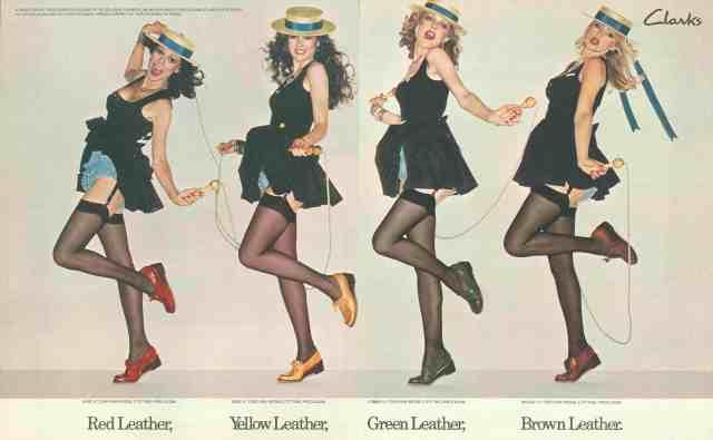 Lester Bookbinder, 1976-Clarks-Red-leather