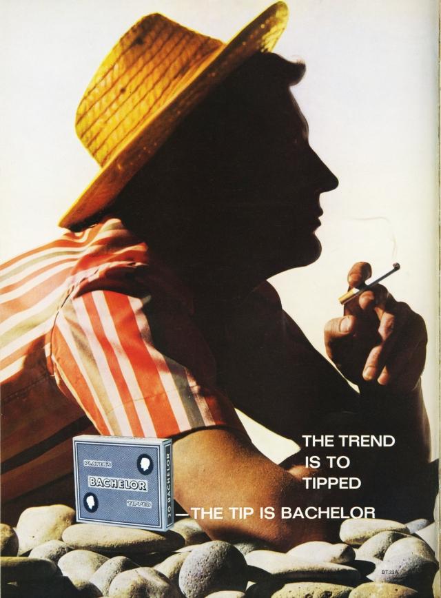 Lester Bookbinder, Bachelors Cigarettes - 'Beach'-01