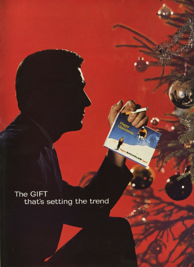 Lester Bookbinder, Bachelors Cigarettes - 'Christmas Tree'-01