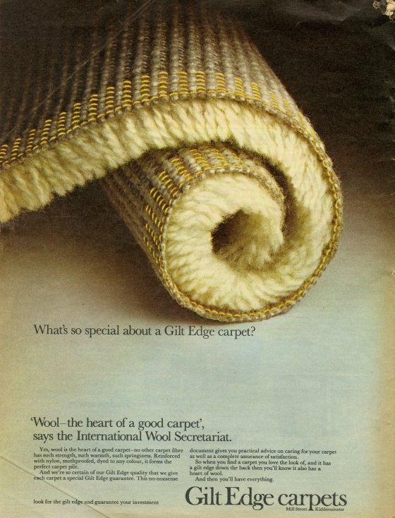 Lester Bookbinder, Gilt Edged Carpets, 'Special'-01