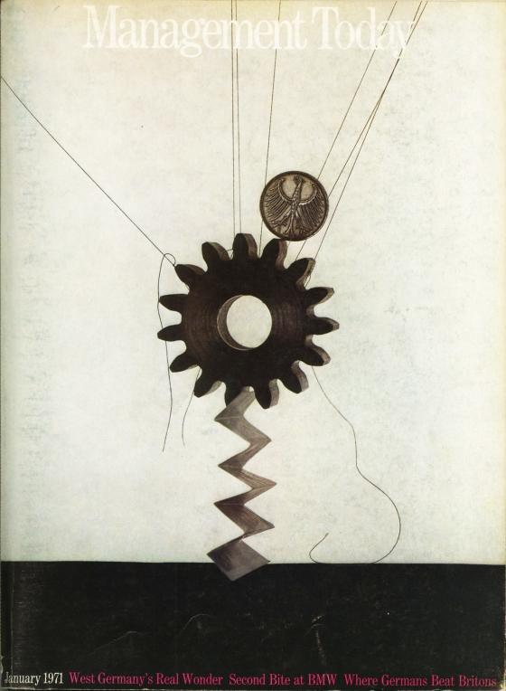 Lester Bookbinder, Management Today 'Cog'**-01