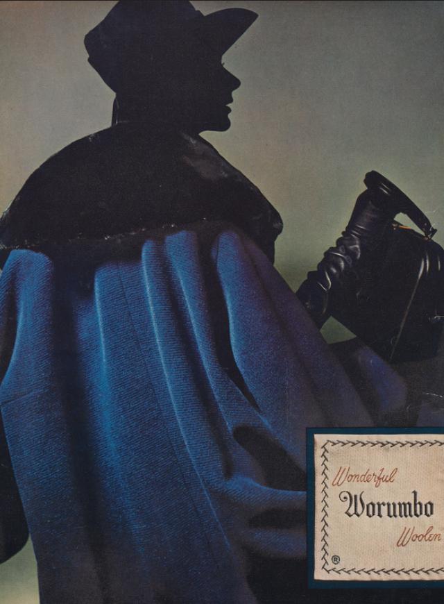 Lester Bookbinder, Worumbo 'Blue'