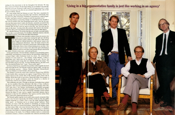 Tim Delaney, GQ article 'The Delaney's'-01