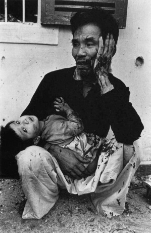 Don McCullin 'Shot Man And Child'