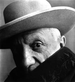 Irving Penn - Piasso In Hat'