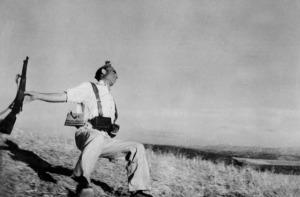 Robert Capa 'Shot Spanish Soldier'