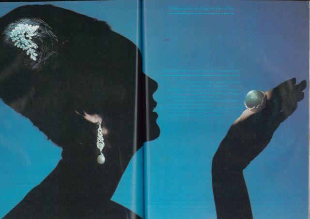 Lester Bookbinder Vogue 'Diamonds'
