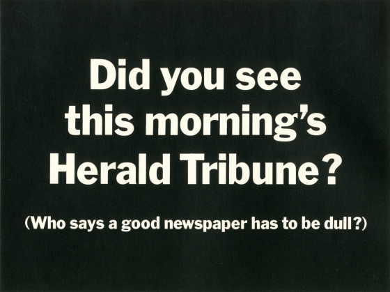 PKL2; Herald Tribune 'Dull'-01