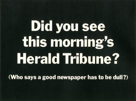 PKL2; Herald Tribune 'Dull'-01