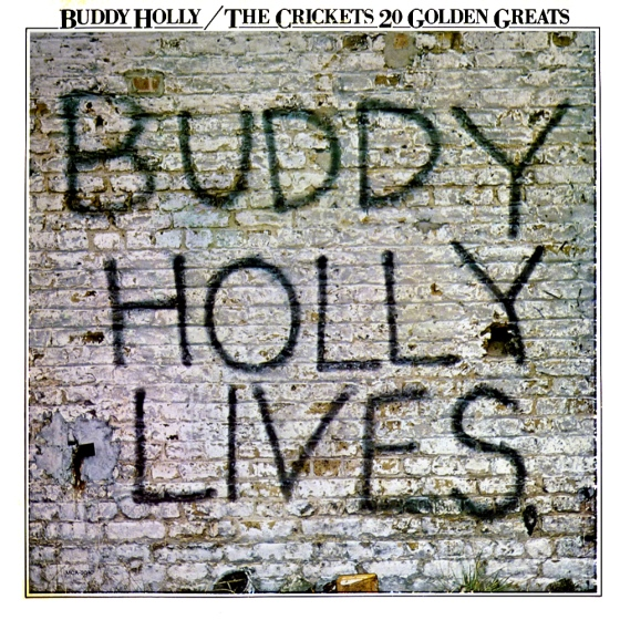 Buddy Holly, 20-golden-greats, John O'Driscoll:CDP