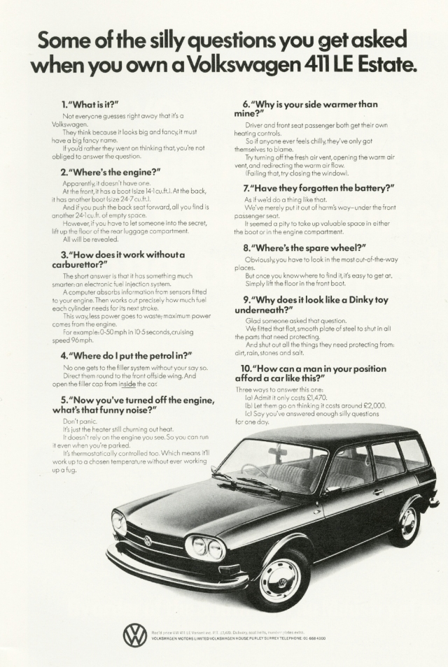 John O'D, VW 'Silly Questions'-01