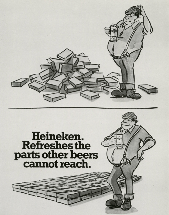 MikE Cozens:Heineken 'Bricks'