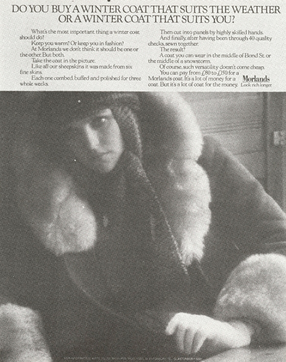 Mike Cozens, Morlands 'Women', BBDO-01