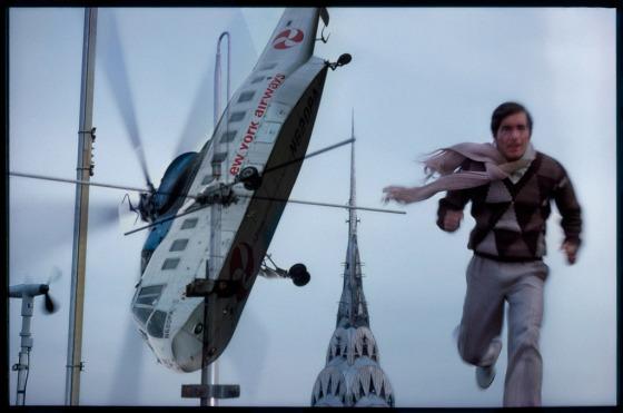 Art Kane 'Helicopter Man'