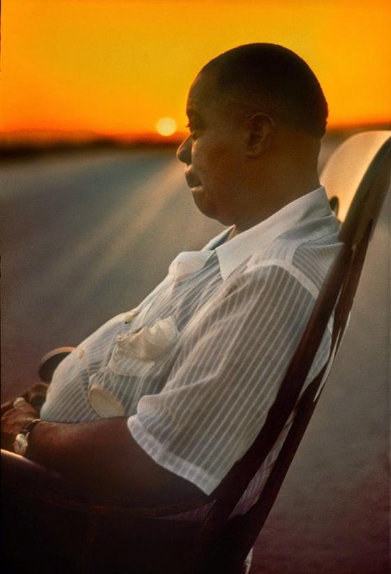 Art Kane 'Louis Armstrong 4'