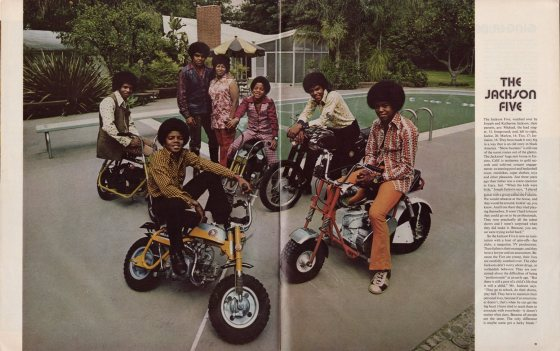 Art Kane 'The Jacksons' Life 1971