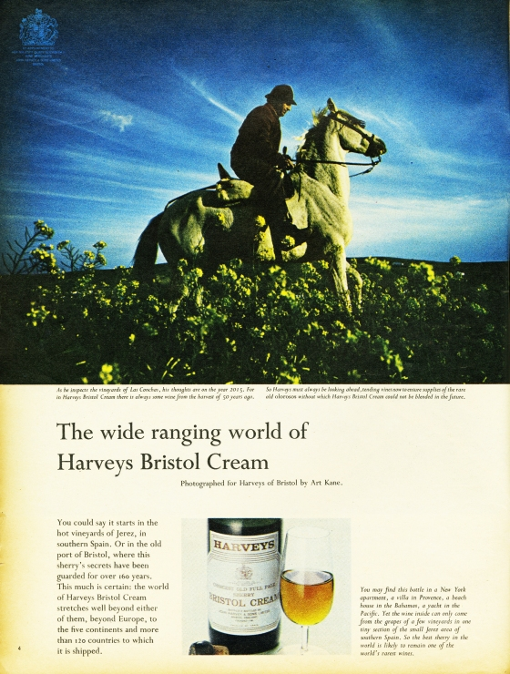 Colin Millward, Harvey's - 'Horse', Art Kane, CDP-03