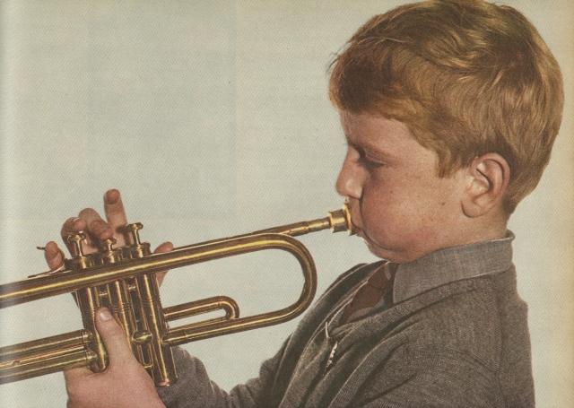 Robert Freson, 'Trumpet Boy'-01