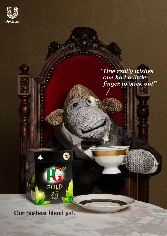 PG tips Gold 'Poshest'