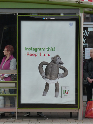 PG tips 'Instagram':Dave Dye:Mother