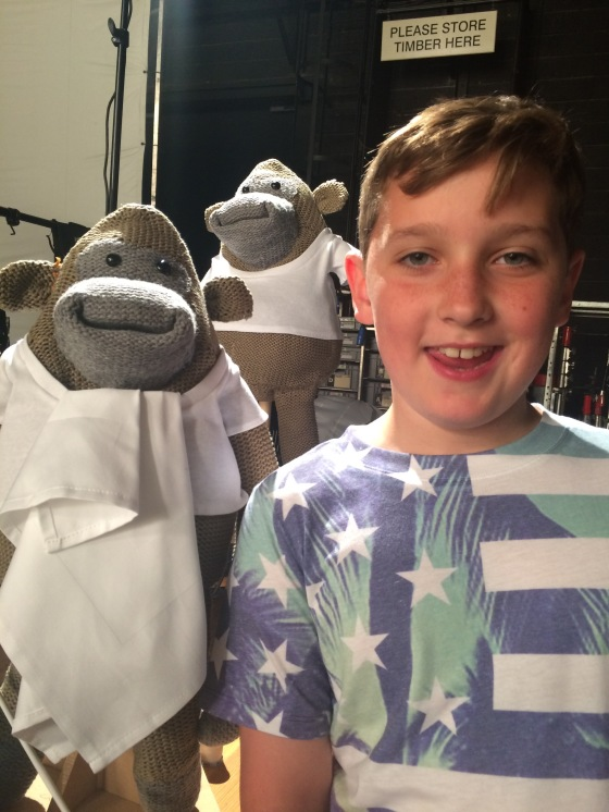PG tips Shoot 'Louis & monkey 2'