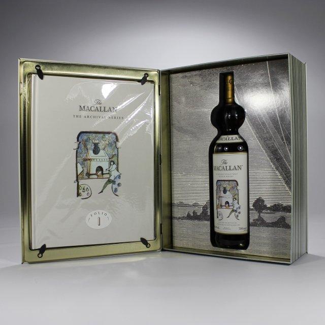The Macallan Ad Bottle:David Holmes
