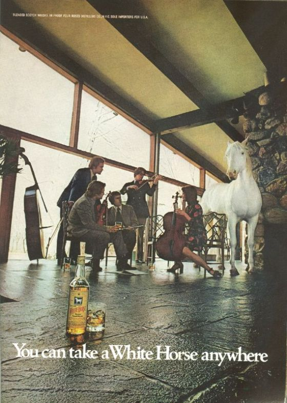 White Horse Whisky - Floor:David Holmes, KMP